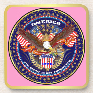 Patriotic or Veteran View Artist Comments Coasters