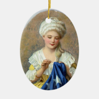 Patriotic Ornament--Betsy Ross Christmas Ornament