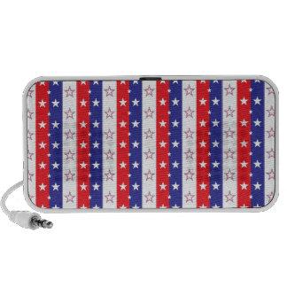 Patriotic Pattern Portable Speaker