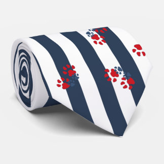 Patriotic Paws Tie