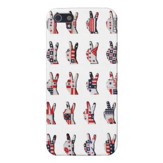Patriotic Peace iPhone 5/5S Case