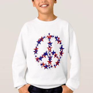 Patriotic Peace Sign Sweatshirt