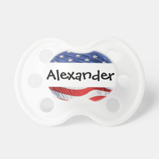 Patriotic Personalized Name Stars and Stripes USA Dummy