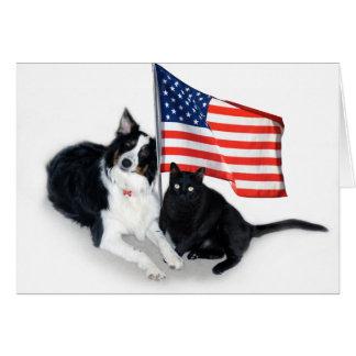 Patriotic Pets Card
