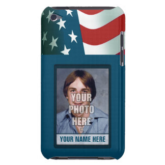 Patriotic Photo Frame iPod Touch Case-Mate Case