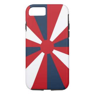 Patriotic Pinwheel iPhone 7 Case