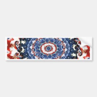 Patriotic Plasticity Bumper Sticker