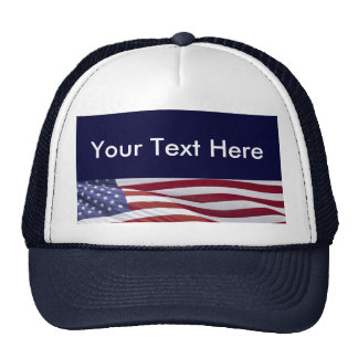 Patriotic Political Campaign Trucker Hat