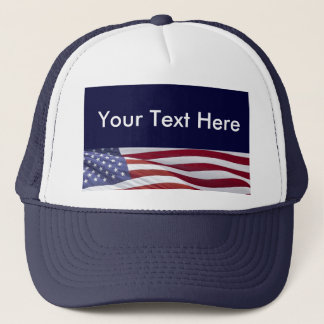 Patriotic Political Campaign Trucker Hat