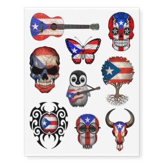 Patriotic Puerto Rican Flags Collection