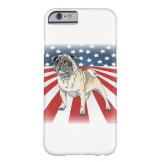 Patriotic Pug Barely There iPhone 6 Case