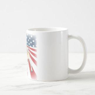 Patriotic Pug Coffee Mug