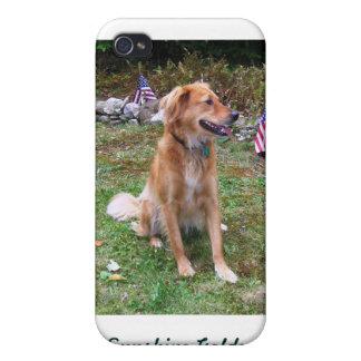 Patriotic Reba, Sunshine Golden Rescue Ophone case iPhone 4/4S Case