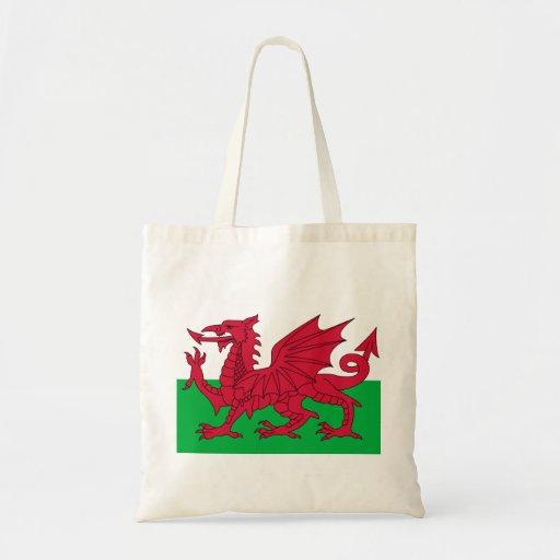 Patriotic Red Dragon Of Wales Tote Bag
