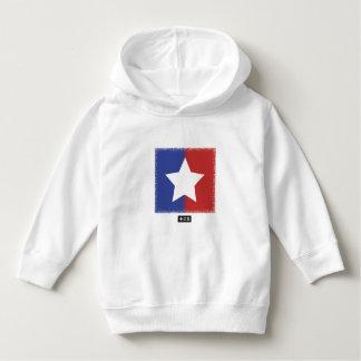 Patriotic Red White Blue American Unity Star Hoodie
