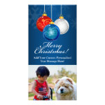Patriotic Red White Blue Ornaments Merry Christmas