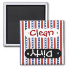 Patriotic Red White Blue Stars and Stripes Freedom Magnet