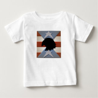 Patriotic Red White Blue with Eagle T Shirts