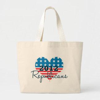 Patriotic Republicans 2012 Tote Bag