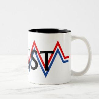 Patriotic Resistance Two-Tone Coffee Mug