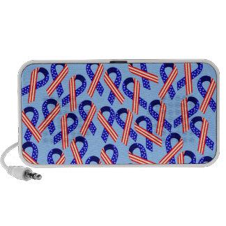 Patriotic Ribbons Portable Speakers