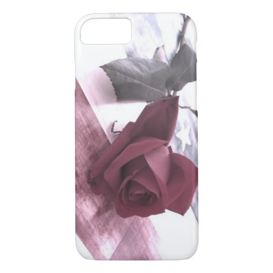 Patriotic Rose 2 iPhone 8/7 Case