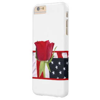 Patriotic Rose Barely There iPhone 6 Plus Case
