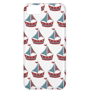 Patriotic Sail Boat Print iPhone 5C Case