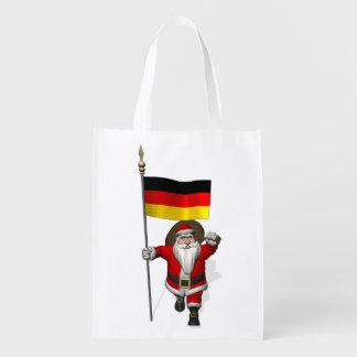 Patriotic Santa Claus With Ensign Of Germany
