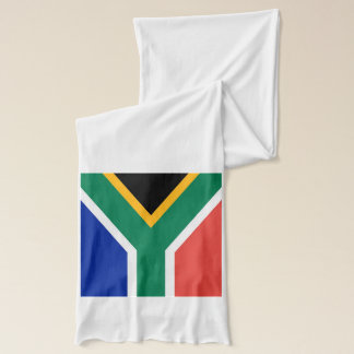 Patriotic Scarf with Flag of South Africa