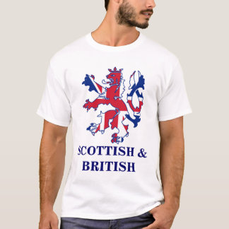 Patriotic Scottish and Brtish T-Shirt