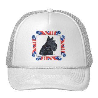 Patriotic Scottish Terrier Mesh Hat