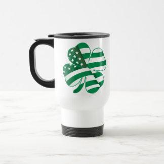 Patriotic Shamrock II Travel Mug