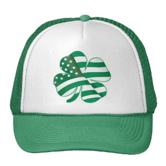 Patriotic Shamrock II Trucker Hat