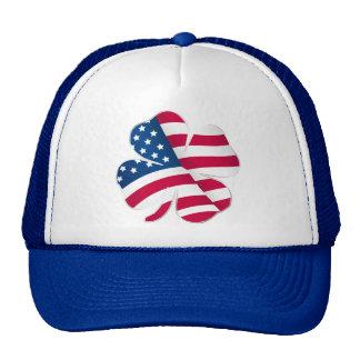 Patriotic Shamrock III Trucker Hat