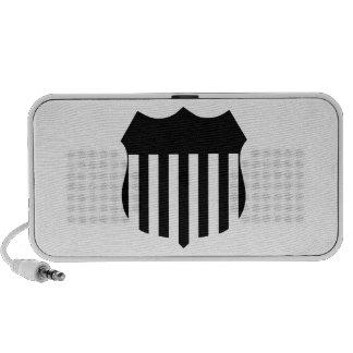 Patriotic Shield Mp3 Speaker
