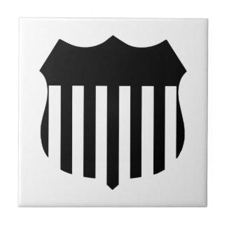 Patriotic Shield Tile