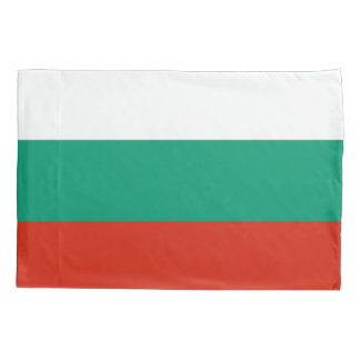 Patriotic Single Pillowcase flag of Bulgaria