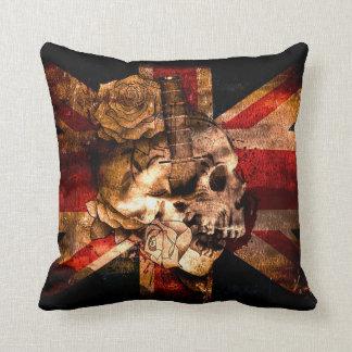 Patriotic Skull Cushion