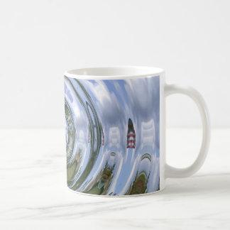 Patriotic Slug Classic White Coffee Mug