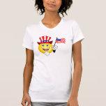 Patriotic Smiley Tshirt