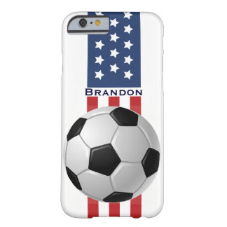 Patriotic Soccer Design iPhone 6 Plus Case