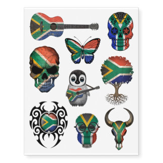 Patriotic South African Flags Collection