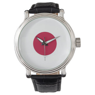 Patriotic, special watch with Flag of Japan