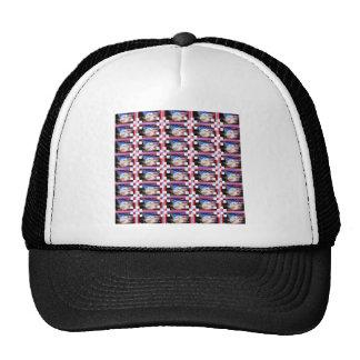 Patriotic Stamps. Trucker Hats