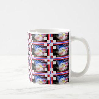 Patriotic Stamps. Mug