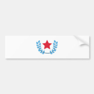 Patriotic Star Bumper Sticker