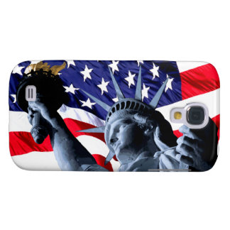 Patriotic Stars and Stripes liberty Galaxy S4 Case