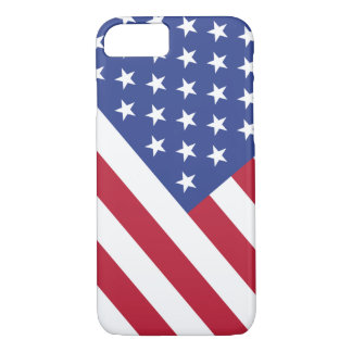 Patriotic Stars and Stripes USA Flag iPhone 8/7 Case