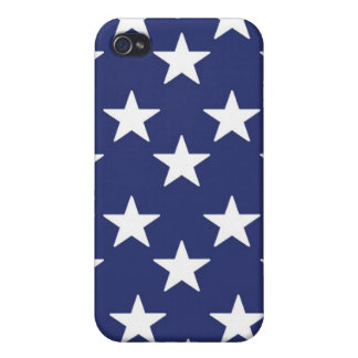 PATRIOTIC STARS CELL iPHONE CASE Cases For iPhone 4